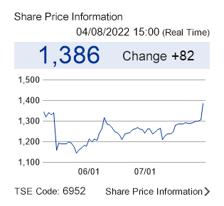 Share Price Information